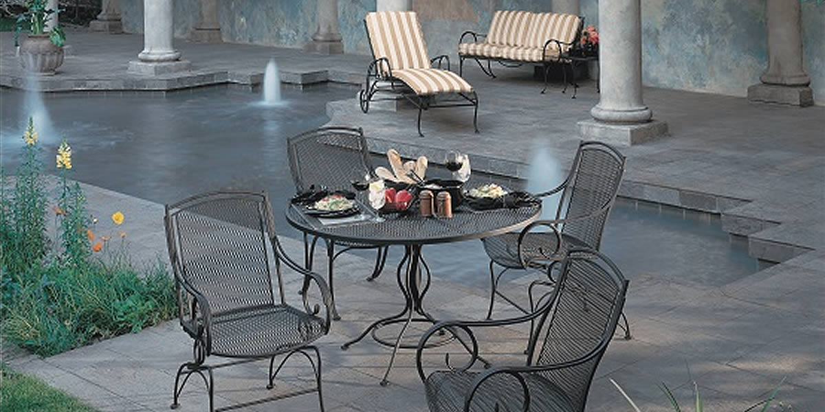Woodard Modesto Wrought Iron  Furniture