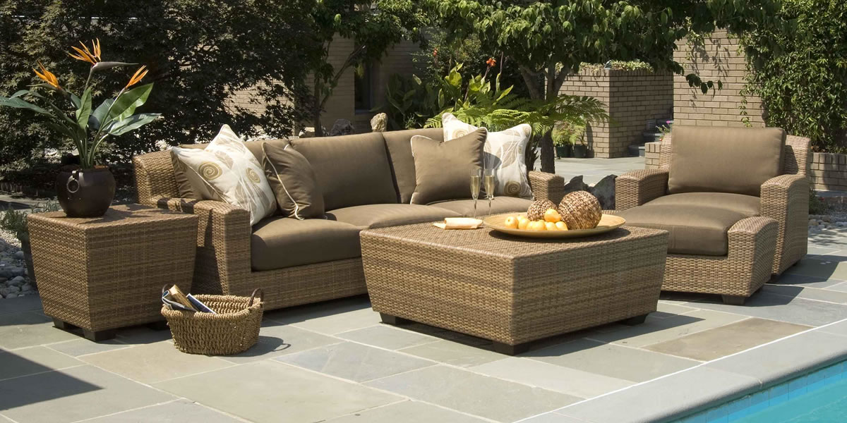 Woodard Whitecraft Saddleback Outdoor Furniture