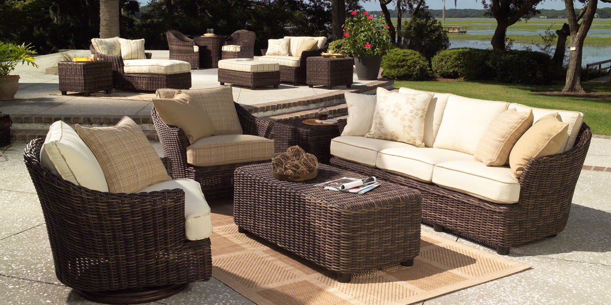 Delightful Sonoma. Woodard Whitecraft Sonoma Outdoor Furniture