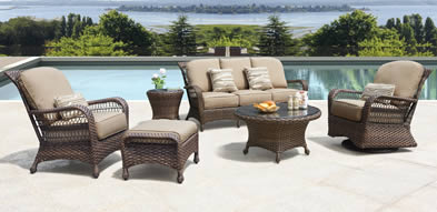 Erwin Bel Air Outdoor Wicker Furniture