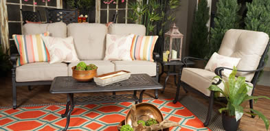 Hanamint Brookhaven Aluminum Outdoor Furniture