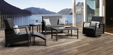 Erwin Ventura Wicker Outdoor Furniture