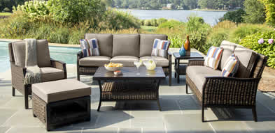 Agio Trenton Wicker Outdoor Furniture